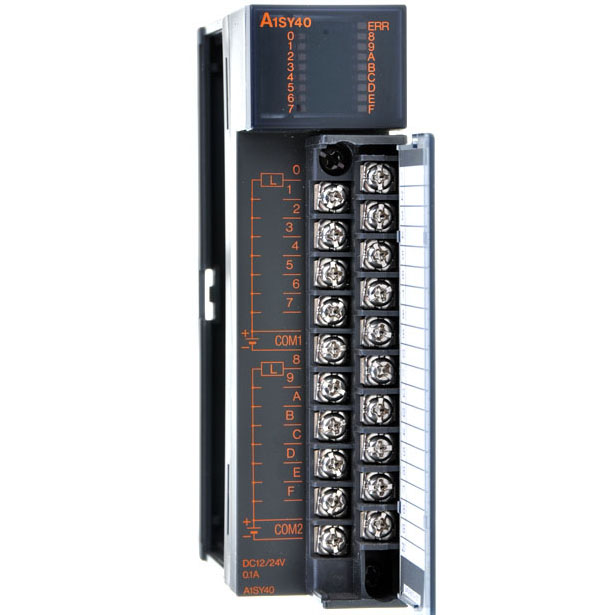 A1SY40P 三菱A系列PLC输出模块 A1SY40P价格 带过热过负载功能A1SY40供应商