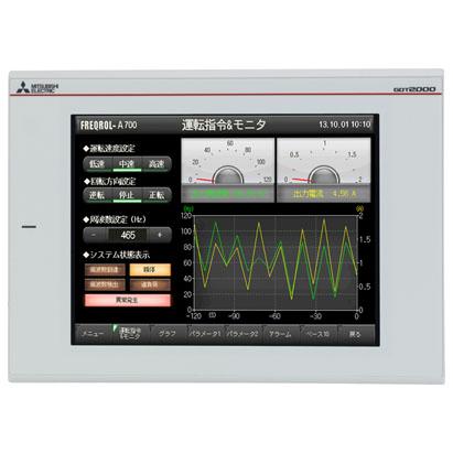 GT2710-VTWA 三菱10.4寸白色触摸屏 AC电源新款价格优惠 批发销售供应商