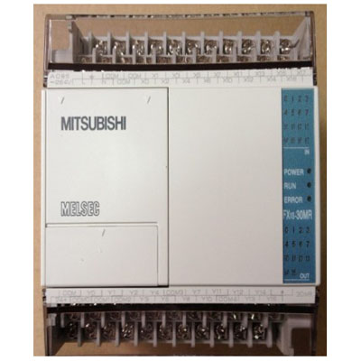 FX1S-30MR-001 三菱PLC FX1S-30MR AC电源DC输入18点漏型输入 12点继电器输出