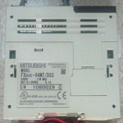 FX3UC-64MT/DSS 三菱PLC价格 32点DC24V漏型/源型输入