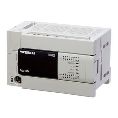 FX3U-32MR/DS 三菱PLC DC电源 16点继电器输出