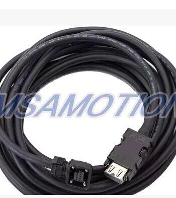 三菱伺服动力线MR-J3/MR-ES编码器电缆MR-J3ENCBL5M-A1-L
