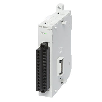 FX5-4AD-TC-ADP 三菱FX5系列4通道的热电偶的模拟量特殊适配器