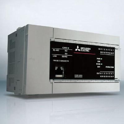 三菱PLC FX5U-80MT/ESS价格 AC电源 内置40入/40晶体管源型输出