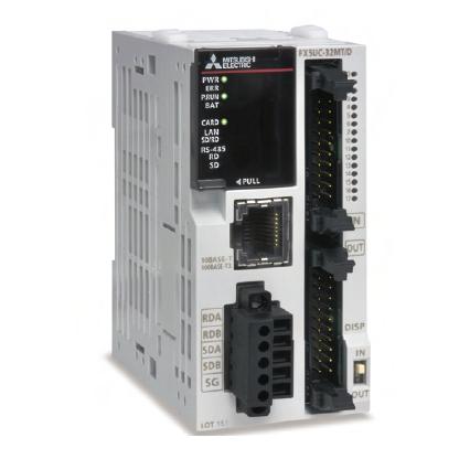 FX5UC-32MT/DSS 三菱PLC  DC电源 16入/16晶体管源型出
