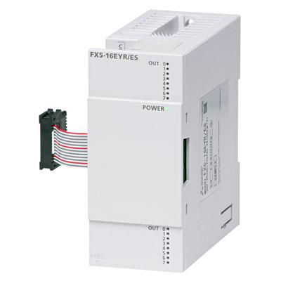 FX5-16EYR/ES 三菱PLC FX5-16EYR价格好 FX5系列扩展输出模块介绍