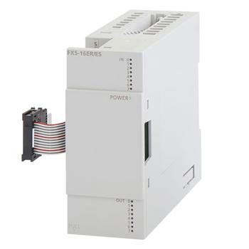 新品FX5-16ER/ES 三菱I/O扩展模块8入8出继电器