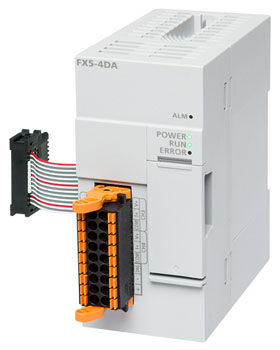 FX5-4DA 三菱4通道模块